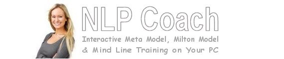 NLP Coach - NLP training software for Practicing the Meta Model, Milton Model and Mind Lines Patterns on your PC